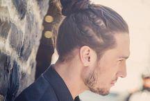 Man buns + braids
