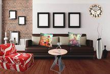 Salon ambiance loft / Optez pour une déco digne d'un loft new-yorkais. Sublimée par des meubles au design hors du commun, elle donnera du caractère à votre quotidien.
