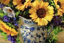 FLOWERS IN VASES / by Patricia Janicki Kostyk