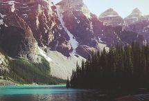 I live mountains