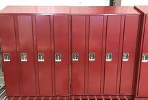 Sullivan School - Minneapolis, MN #DeBourgh #Lockers / #Corregidoor #MaroonPeaks #SentryThreeLatch #SolidVentilation #PianoHinge #SlopeTop #ClosedBase #DeBourgh #Lockers