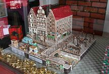 Gingerbread House City Scenes / gingerbread gingerbread house cookie house Christmas house