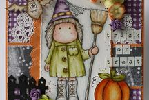 Inspiration: Magnolia Stamps Halloween