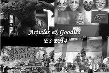 E3 2014 - Goodies et articles promotionnels