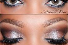 Bridal Makeup / Bridal Makeup, Dark skin