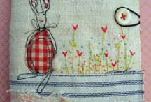 Pin cushion needle book style