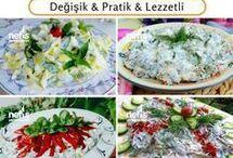semizotu salataları