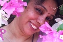 Featured Poet for April Janaki Nagaraj~ 2014 / Janaki Nagaraj~ Janaki discovered her passion for writing late in life, but she never looks back. A fun loving person whose heart has stopped growing up at adolescence. Her kids are her vitamin D, i.e., her sunshine.. her friends are her strength and inspiration, her hubby her support.