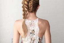 Hair and braids / To have beautiful and cool your hair, diferent styles to look pretty