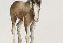 cowboy nursery art print