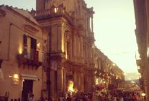 Noto (Sicily) from my point of view / Noto e dintorni.