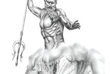 tattoo poseidon