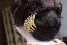 Kimono hairstyle / 和装向きヘアイメージ