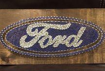 Ford  fonalgrafika
