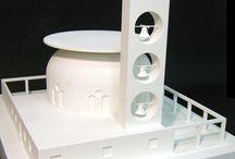 Mostra Mario Ridolfi, scala 1:100: chiesa circolare
