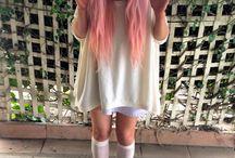 kawaii/pastel/indie fashion