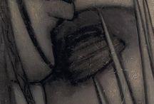 sztuka czerń i biel