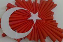 Cumhuriyet Bayramı / Bahçeşehir koleji CUMHURİYET PANOSU
