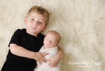 Newborn Sessions / sweet babies, in studio, by Bouncing Light Photography, Cleveland, OH