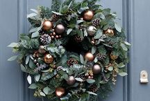 Christmas wreaths / A collection of our bespoke Christmas door wreaths along with favourites from other pinners.