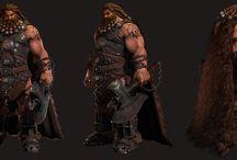 Character 3D realistic