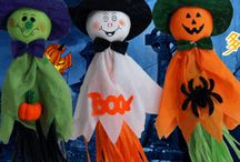 Halloween ajtódísz