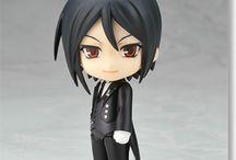 Products for Sale / Lindo Nendoroid Do Sebastian  do anime Kuroshitsuji Tamanho: 10 cm in box NEW / SEALED / NOT USED