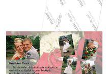 Hochzeit Danksagungen / Danksagungskarten für die Hochzeit oder Verpartnerung