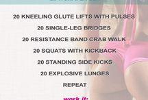 Workouts / by Daisy Lamb