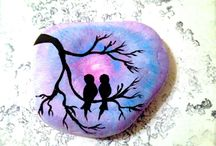 beauty of rock painting