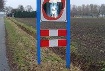 verkeersbord Maud