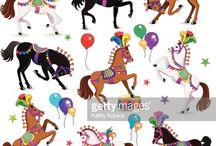 INSPIRATION: Zirkus / Zirkus, Träumen, neue Welten erschaffen, Tiere, Artisten, Gewichtheber, Zirkuswagen, Pferde, Löwen, Zirkusplakate, Wahrsager, Schaulustige, Tricks, Zauberer, Manege, Clowns, Tänzer