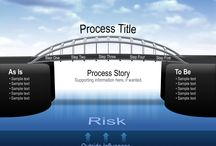 Bridge Graphics / Bridge Graphics are memorable visual metaphors to show processes or transitions.