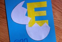 Letter e for toddlers / Letter e for toddlers