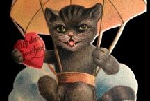 Vintage in Valentines / Sweet Valentine greetings from days gone by...