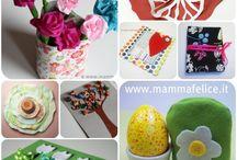 Spring / Attività creative, cucina, cose belle