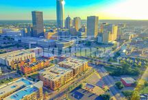 Oklahoma City Drone Cityscapes