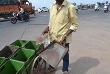 Waste Management / These are the pictures I clicked when I was doing a project on waste management in Ahmedabad, West Zone.