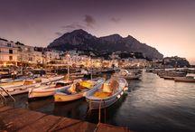 Capri / An international jet set meeting point for enthusiastic travellers and incurable bon vivants / by Capri Tiberio Palace