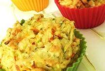 sebzeli muffin