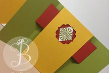 Birthday Cards & Decor Ideas / Stampin' Up! Birthday cards, decorations and gifts made by Lisa Ann Bernard of Queen B Creations, Independent Stampin' Up! demonstrator
