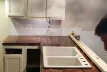 Small House Renovations / While this is a little bigger than a tiny house, the house is still smaller than 700 sq ft.  Here are renovation ideas for small homes that make them seem bigger.