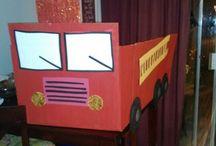 Fire truck / Cardbo