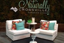 Crossville Looks Back at 2014: So Much #Tile Style / What a great year for the Crossville brand! Here's a look back at the new lines, big wins, and great times we've shared with our customers and distribution partners! #porcelaintile #tile #happynewyear