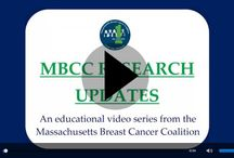 Research Updates Videos / An educational video series to summarize existing research on environmental health and breast cancer prevention advocacy. Researchers, university professors, activists and other authorities in the field are interviewed and each segment provides tips to reduce exposure or become more involved in breast cancer prevention.