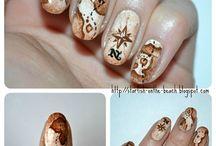 pirate nail art