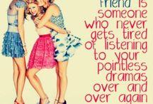 friends forever / by Rachel Herman