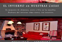 Lindas casas rurales Valladolid y Cantabria