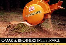 Stump Grinding / by Omar & Brothers Tree Service