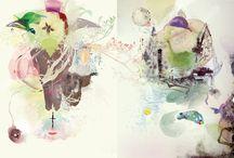 Wasserfarben Artworks